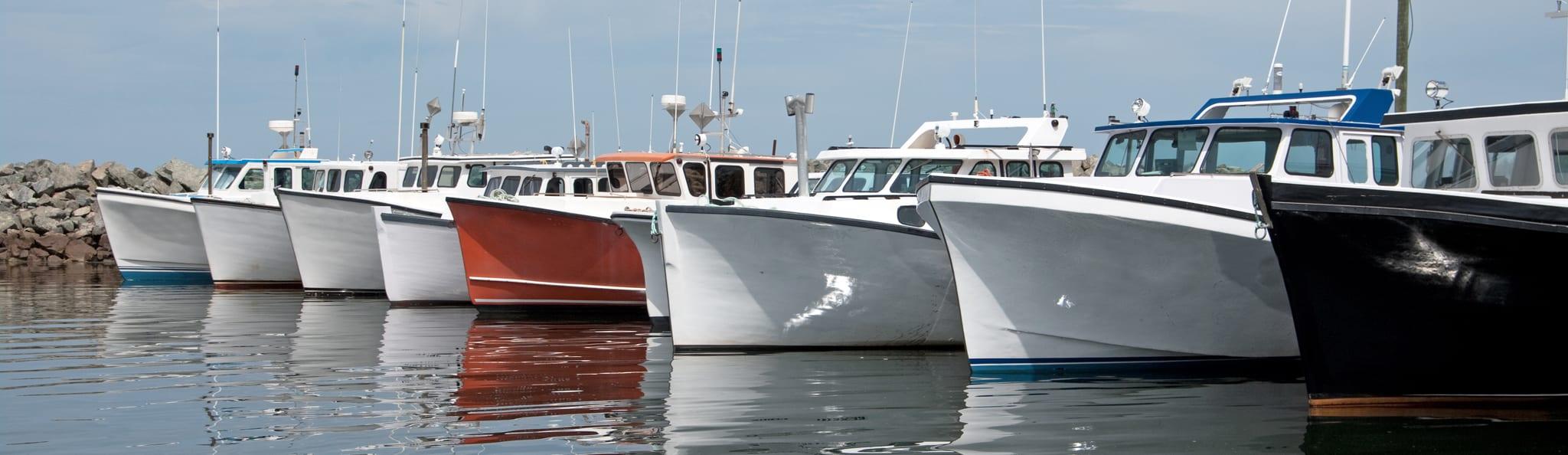 Boats-on-Wharf-Nova-Scotia